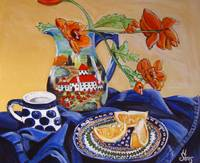 Polish Pottery X: Oranges Anyone?