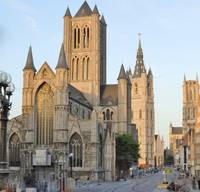 Three Towers of Ghent