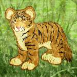 Tiger Cub Prints & Posters