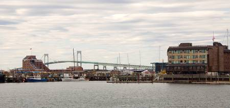 The Claiborne Pell Bridge  Newport RI