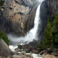 Lower Yosemite Falls Art Prints & Posters by Burt Erwin