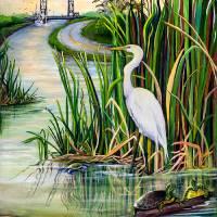 """Louisiana Wetlands"" by creativemoods"