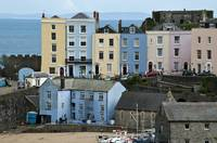 Tenby Colorful Houses