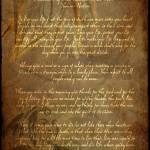 """Chief Tecumseh Poem"" by WaynePhotoGuy"