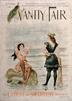 Cover for 'Vanity Fair', September 1896