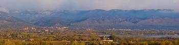 City Of Boulder Colorado Panorama View