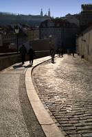 Cobbled Street near Prague Castle