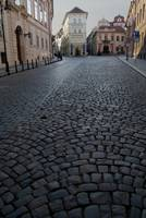 Cobbled Street, Prague