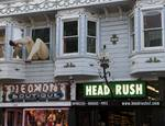 Haight Ashbury Detail, San Francisco