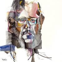Self Portrait - 1982 by Jonas Gerard