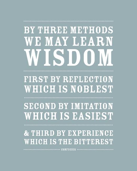 Three Ways to Wisdom • Blue