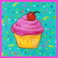 Cupcake Art Prints & Posters by Jennifer Partrite
