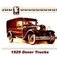 1929 Dover Truck Art Prints & Posters by Jeffrey Timmons