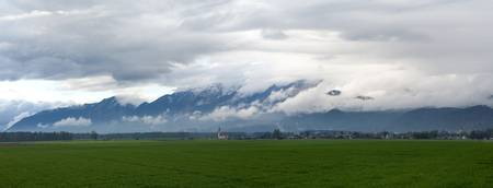 Kamnik Alps panoramic