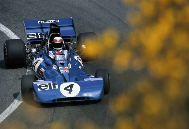 Tyrrell 003/Ford Cosworth at the French GP 1972