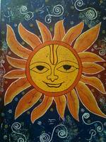 whimsical sun