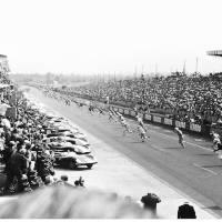 """Le Mans Start 1959"" by roadandtrackphotos"