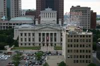 columbus ohio statehouse view