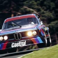 """BMW CSL at Nurburgring 1974"" by roadandtrackphotos"