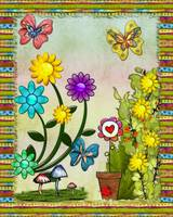 Very Hippy Day Whimsical Fantasy Art