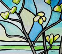 Dogwood Stained Glass III