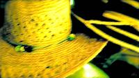 Chapeaux in Yellow and Green