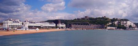Dover Seafront from the Prince of Wales Pier