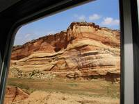 Red Rocks out the Window