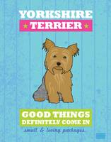 Yorkshire Terrier Blue/Green
