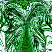 Green Linear Abstract Flow