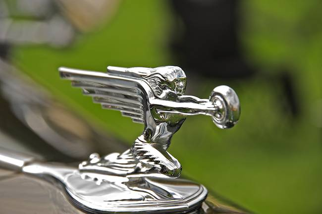 Packard Hood Ornament 3