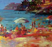 Monaco Coast by Peter Graham