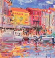 Le Port de St Tropez by Peter Graham
