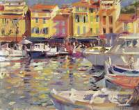 Harbour at Cassis by Peter Graham