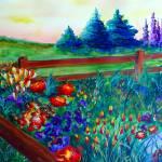 Corner Garden by Kris Courtney