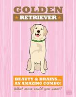 Golden Retriever2 Pink/Orange