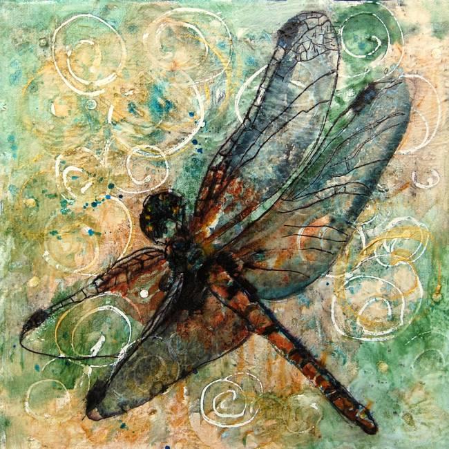 Dragonfly Dance By Miriam Schulman