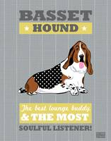 Basset2 Gray/Gold