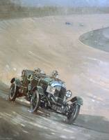 24 Hour Race at Brooklands by Peter Miller