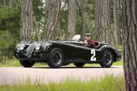 Jaguar XK120 1950 with Phil Hill