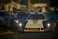 Ford Riley DP at Rolex 24 2012 twilight