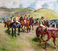 Before the Race, c.1893 (pastel)