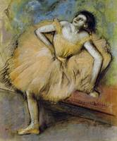 Seated Dancer, c.1894 (pastel on paper)