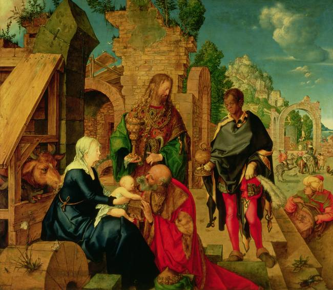 Adoration of the Magi, 1504 )oil on panel(