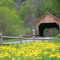 Cilley Bridge Art Prints & Posters by Robert Dunkle