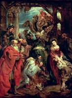 Adoration of the Magi, 1624 (oil on panel)