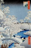 Winter Landscape (woodblock print)
