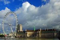 National Aquarium and London Eye, London