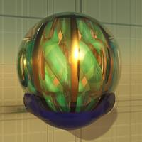 Virtual Glass Sphere in Base