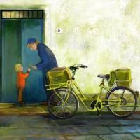Postman Art Prints & Posters by SAWAKO M